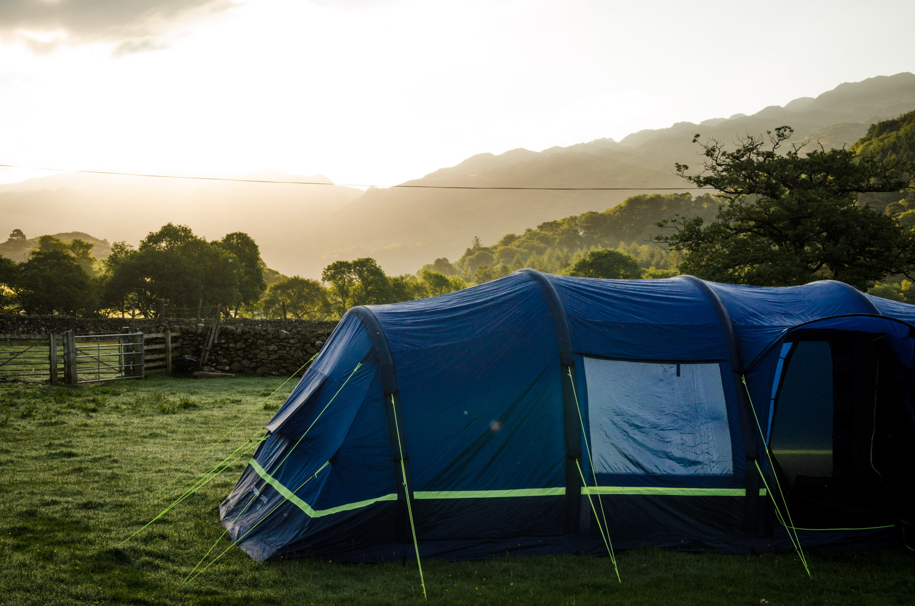 Stunning camp sites ruined by midges