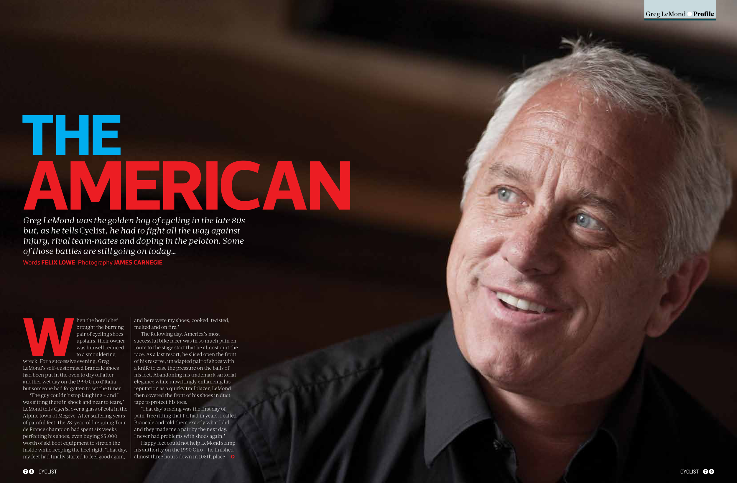 The American for Cyclist magazine