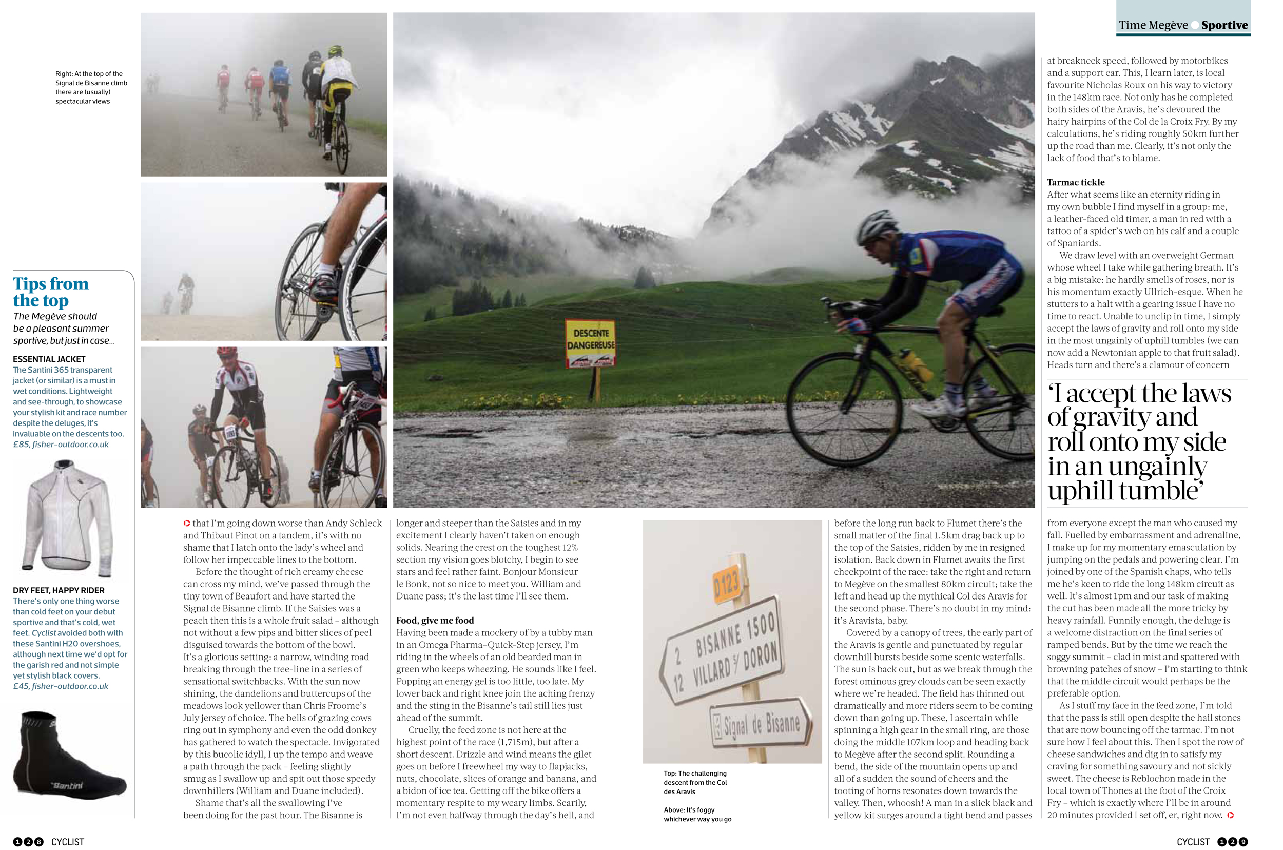 Baptism of Fire article IV, cyclist magazine