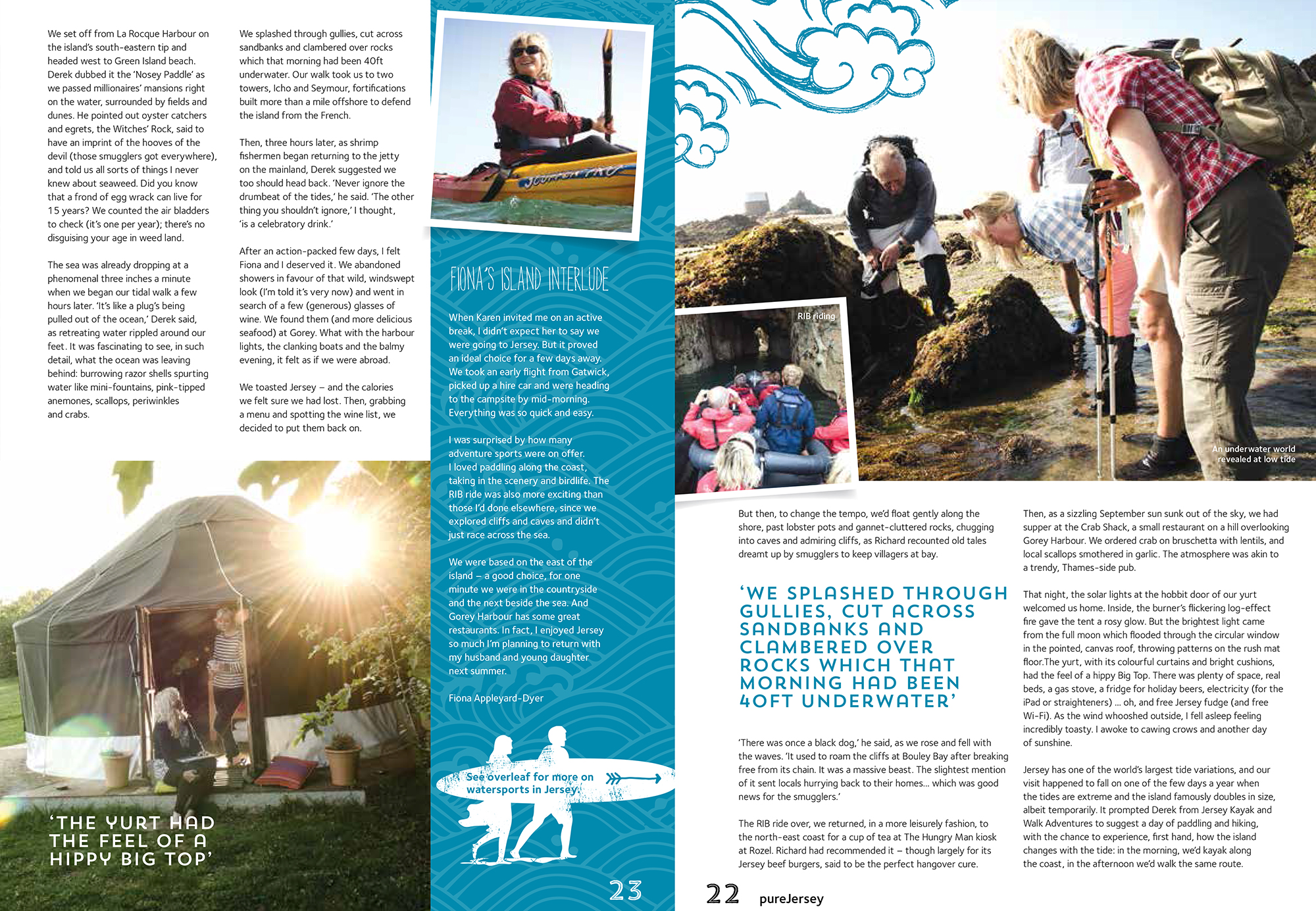 Jersey Tourism Brochure 2015 article